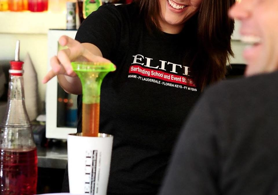 What is learned at our bartending school Delray Beach.